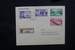 SUISSE - Enveloppe En Recommandé De Bern En 1931 Pour Chemnitz, Affranchissement Plaisant, Oblitération FDC - L 51604 - Postmark Collection