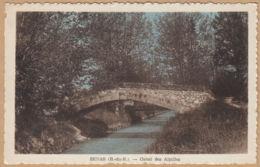 CPA Senas, Canal Des Alpilles, Ungel. - Francia