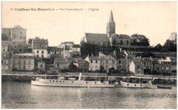 78 CONFLANS-SAINTE-HONORINE - Vue Panoramique - L'église - Conflans Saint Honorine