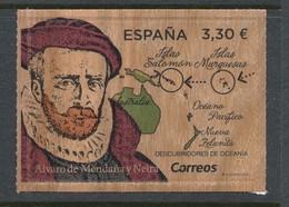 Spain 2018 Edifil # 5245. Alvaro De Mendaña Y Neira. MNH (**) - 2011-... Unused Stamps