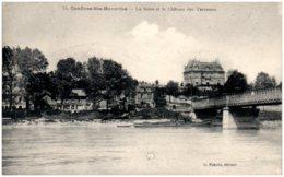 78 CONFLANS-SAINTE-HONORINE - La Seine Et Le Chateau Des Terrasses - Conflans Saint Honorine