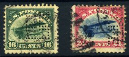 Estados Unidos (Aéreos) Nº 2/3. Año 1916. - Air Mail