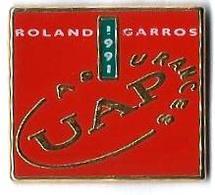 TENNIS - T60 - ROLAND GARROS - UAP ASSURANCES - Verso :DECAT - Tennis