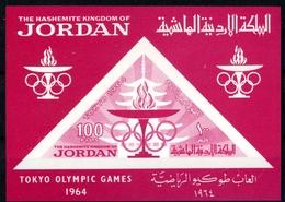 Jordanien MiNr. Block 16 Postfrisch MNH Olympia 1964 (Oly2139 - Jordanien