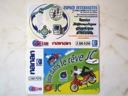 2 CARDS BURKINA FASO - Burkina Faso