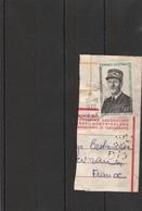TAAF Yvert  46 Général De Gaulle Sur Fragment Archipel Des Kerguelen 31/10/1972 - Cote 20 Euros - Lot 3 - Terres Australes Et Antarctiques Françaises (TAAF)