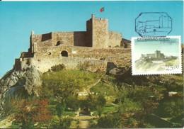 Carte Maximum - Portugal - Marvao - Castelo - Castle - Chateau - Cartes-maximum (CM)