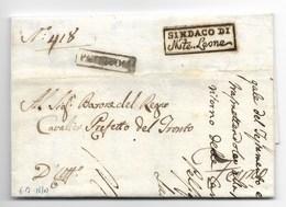 PERIODO NAPOLEONICO - DA MONTELEONE A FERMO - 6.7.1810. - Italia