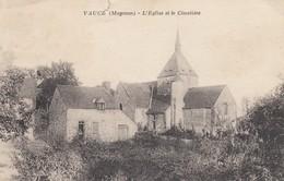 Vaucé.  L'Eglise Et Le Cimetière - Autres Communes