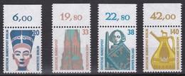 BRD, Sehenswürdigkeiten (V), 1989, Mi.Nr. 1398-1401 ** Mit Oberrand - Nuovi