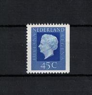 NIEDERLANDE , Netherlands , 1972 ( 1974 ) , ** , MNH , Postfrisch , Mi.Nr. 977 Dr - Period 1949-1980 (Juliana)