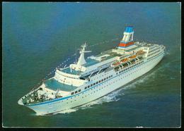 "Ax VEB Deutfracht Seereederei Rostock, Passenger Liner "" MS Arkona"" - Passagiersschepen"