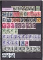UN LOT DE 105 TIMBRES NEUFS**, NSG, OBLITéRéS DONT MULTIPLES - Collections