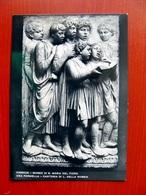 (FG.V60) CANTORIA DI LUCA DELLA ROBBIA - UNA FORMELLA (FIRENZE, MUSEO DI SANTA MARIA DEL FIORE) NV - Sculture