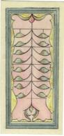 Projet Original Peint Main Pour Vitrail Art Nouveau. Aquarelle. - Aquarelles