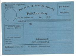 MANDAT-POSTE INTERNATIONAL186 . Bleu - Stamped Stationery