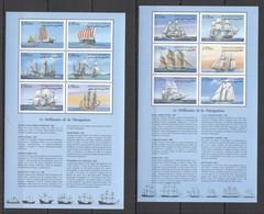 F491 DJIBOUTI TRANSPORTATION SAILING NAVIGATION SHIPS & BOATS !!! 2KB MNH - Barche