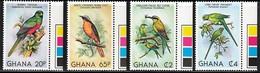 1981 Ghana Birds Set And Minisheet (** / MNH / UMM) - Unclassified