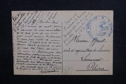POLOGNE - Cachet Militaire  Sur Carte Postale De Warszawa , Texte En Français - L 51621 - Briefe U. Dokumente