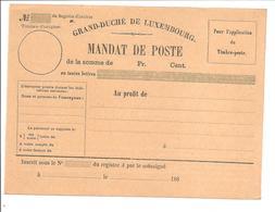 MANDAT-POSTE INTERNATIONAL186 Jaune - Stamped Stationery