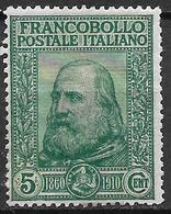 Italy - Italia -  1910  Mi. Nr. 95 - Ungebraucht