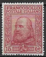 Italy - Italia -  1910  Mi. Nr. 96 (folded) - Ungebraucht