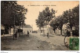LORRIS La Place Du Gatinais. 2 Scans - Non Classificati