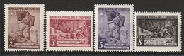 ALBANIE - N°414/7 ** (1950) - Albania