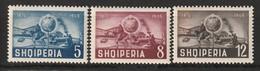ALBANIE - N°421/3 ** (1950) U.P.U - Albania