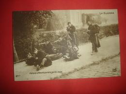 N°0912. WWI. LA GUERRE. RETRAITE D'ANVERS. ARRIERE GARDE BELGE. - Guerre 1914-18