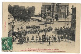 Rare Nord HAUTMONT Manifestations De Grévistes Dans Le Bassin De MAUBEUGE  Grand Place Gardée  Grèves  .G - Maubeuge