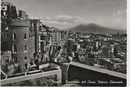 Napoli - Panorama Dal Corso Vittorio Emanuele - H6224 - Napoli