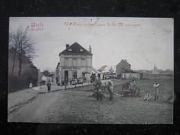 UCCLE   - Saint Job , Brasserie Carloo  ,rue De La Montagne ,Attelage , Carte En Couleur - Uccle - Ukkel