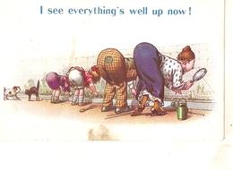 """I See Everything's Well....."" Bamforth  Comics Series PC # 502? - Humor"