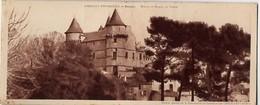 CP 34 Hérault - ROUJAN, Chateau De Margon - Sans N° - édition Chocolat Cantaloup-Catala - Format 9.5 X 23 Cm - Altri Comuni