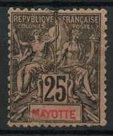 Mayotte (1892) N 8 (o) - Usati