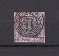 Baden - 1851 - Michel Nr. 4 - Gest. - 35 Euro - Baden