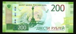 * Russia 200 Rubles 2017 ! UNC ! - Russia