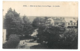 56 Etel, Hotel De La Gare Et De La Plage, Le Jardin (8186) - Etel
