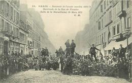 PARIS - Souvenir De L'année Terrible 1870-71; Barricade De La Rue De Flandre. - Arrondissement: 20