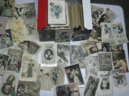 LOT D'environ 1000 CPA Fantaisies (33cm) Années 1900/1931 1er Mai, 1er Avril,Fête , Pâques, Fleurs,Noël Etc... - Postcards