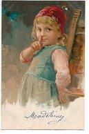 L170A608 - Très Jolie Portrait De Fillette - Carte Précurseur - Portraits