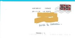 Marque De Tri TM 0004/1 (66420 Le Barcarès) Timbre Inspiration Africaine Tissu Toshiba - Marcofilia (sobres)