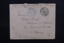 BENIN - Enveloppe En FM Du Corps Expéditionnaire Du Dahomey Pour Nancy En 1893 ,voir 2 Cachets Militaire - L 51643 - Covers & Documents