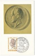 BELGIQUE => Carte Maximum - Frère Orban - 1960 - Maximum Cards