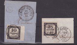 FRANCE : T N° 2 . N° 5A . BDF . SUR FGT . TB . 1861/71 . - 1849-1876: Période Classique