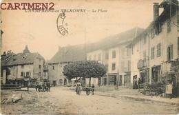 CHAMPAGNE-EN-VALROMEY LA PLACE ANIME 01 AIN - Frankreich