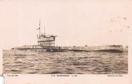 "H.M. SUBMARINE ""L18"" ~ A VINTAGE REAL PHOTO POSTCARD #98328 - Sonstige"