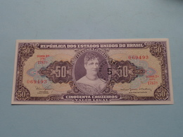 50 - CINQUENTA CRUZEIROS > BRASIL ( For Grade, Please See Photo ) UNC ! - Brésil