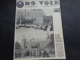 """Origineel Knipsel ( 1788 ) Uit Tijdschrift """" Ons Volk """"  1935 :    Leuven   Louvain - Old Paper"""